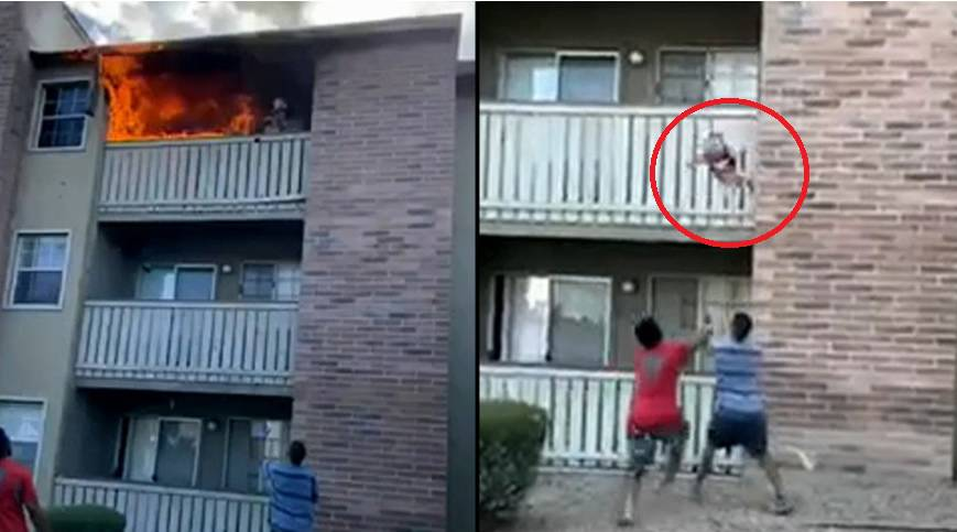 Bacila sinčića s balkona i time ga spasila od plamene buktinje: Majka se nije uspjela spasiti...