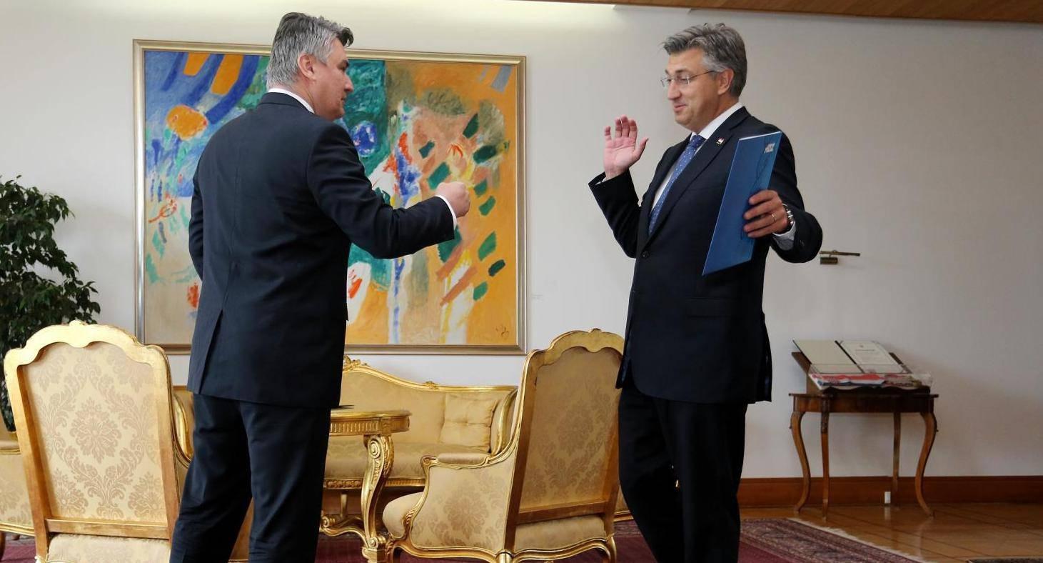 Plenković se odbio rukovati: 'A ne, ne. Ti kažeš da je karijes, ja kažem da ne smijemo...'