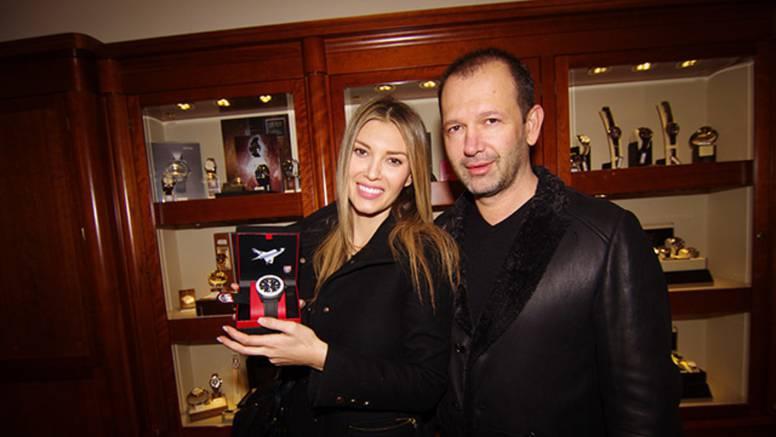 Vanja Halilović i Barbieri na predstavljanju novih satova