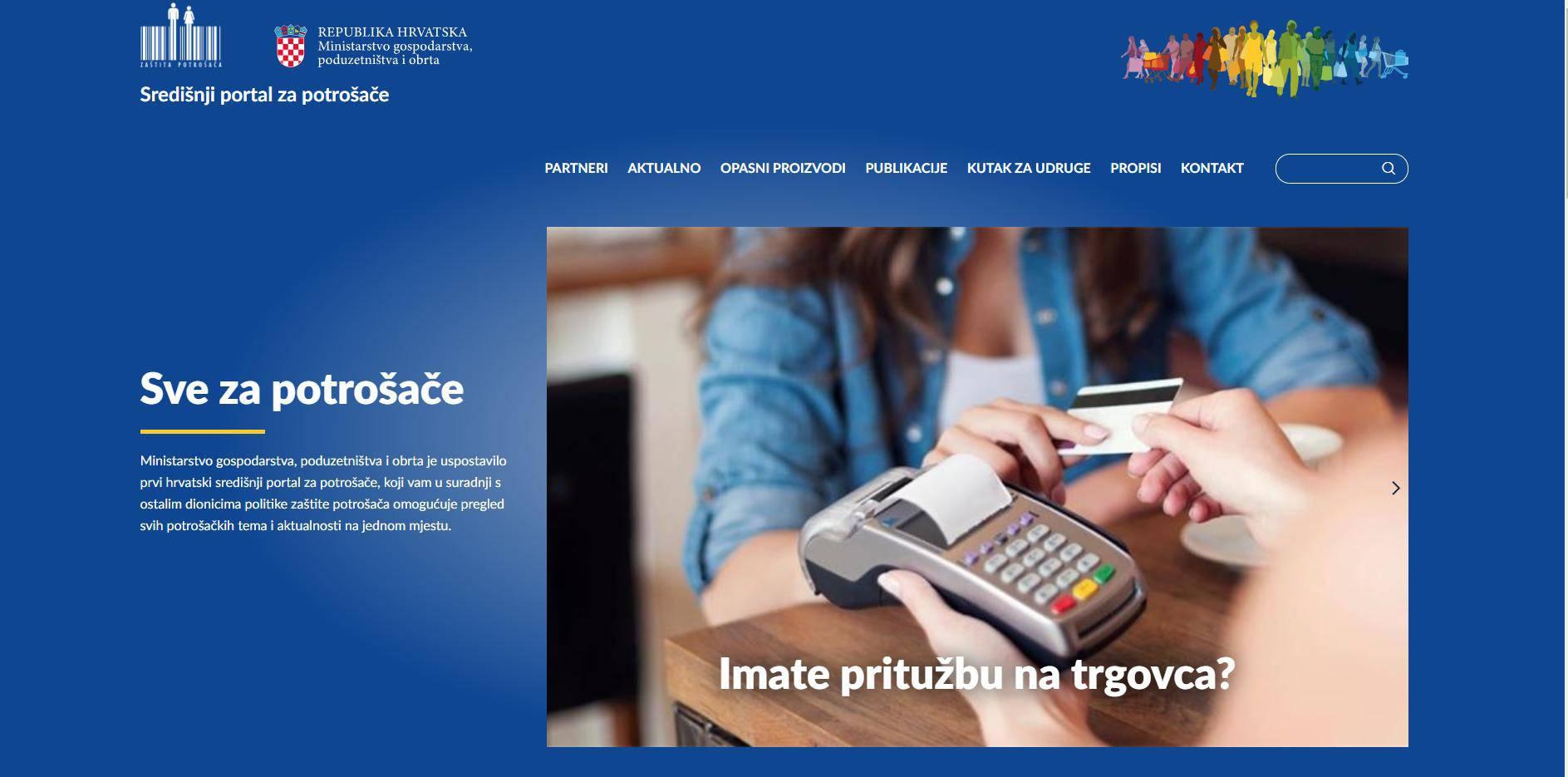 Ministarstvo pokrenulo portal o zaštiti potrošača: Ima 34 teme