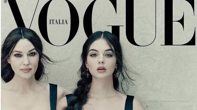 Monica Bellucci 'zapalila' je naslovnicu Voguea: Ponosno je pokazala nasljednicu, kćer Devu