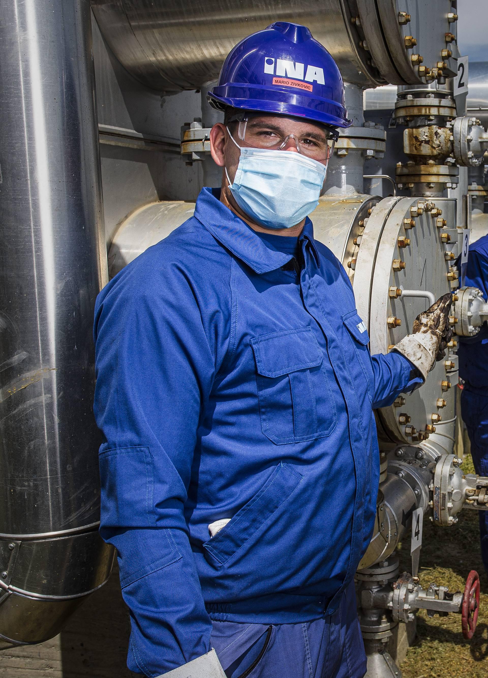 INA kontinuirano proizvodi naftu i plin unatoč epidemiji...