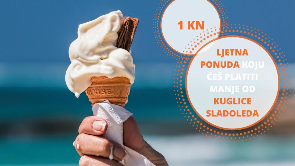 Ljetna ponuda koju ćeš platiti manje od kuglice sladoleda