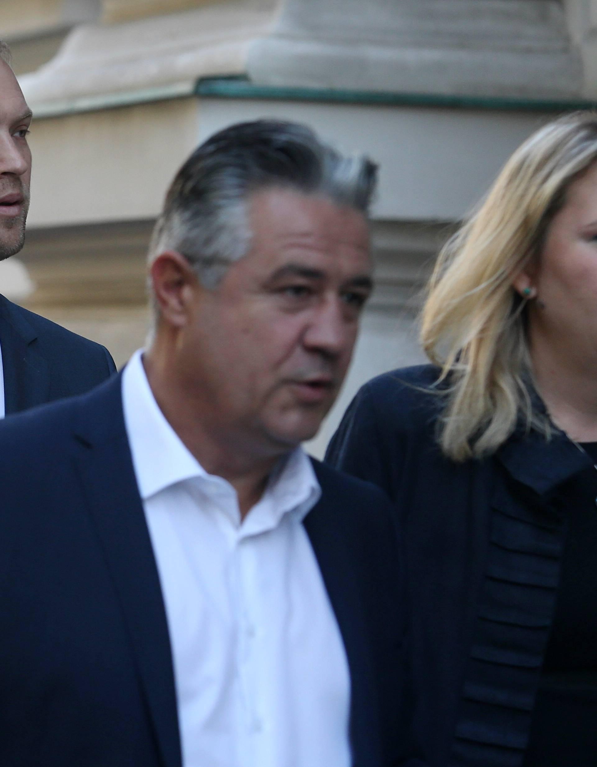 Zagreb: Saucha s odvjetnicima dolazi na Županijski sud na sjednicu Optužnog vijeća