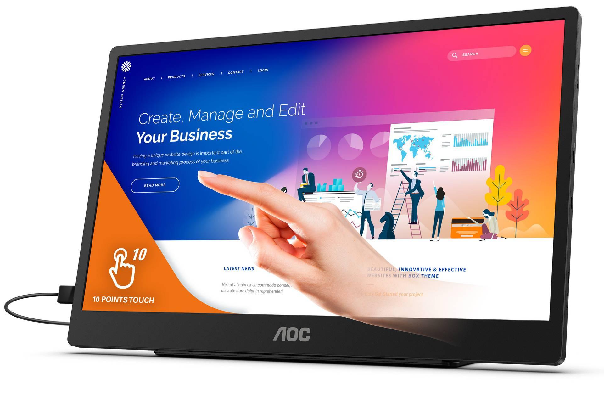 AOC najavio prijenosni monitor koji može puniti vaše gadgete