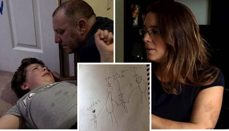 Crtež psihologu otkrio zašto je dječak (8) nasilan prema mami