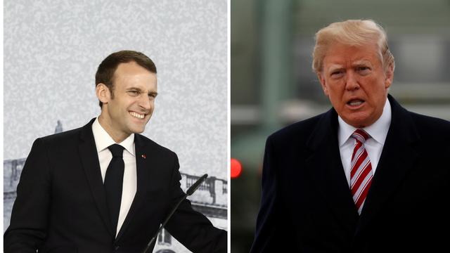 Macron daruje Trumpu sadnicu hrasta kao simbol prijateljstva