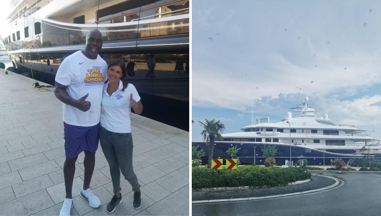 Magic Johnson stigao u Split: Nalazi se na jahti od 86 metara!