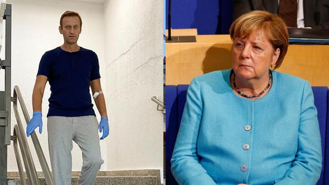 Merkel je posjetila Navaljnog