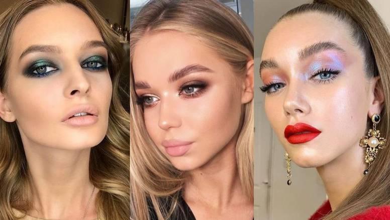 10 glamuroznih make-up stilova