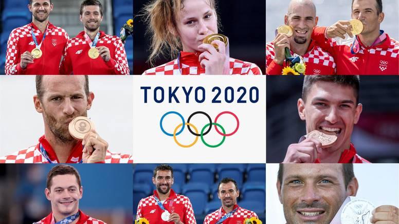 Hrvatska je 26. najbolja na OI! Osvojili smo osam medalja, dvije manje nego u Riju 2016.