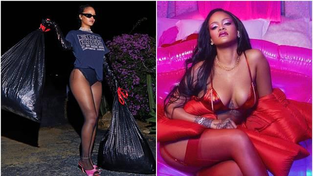 Rihanna izbacila smeće i usput promovirala svoj modni brend: 'Stop rasizmu! Joe, uspjeli smo'
