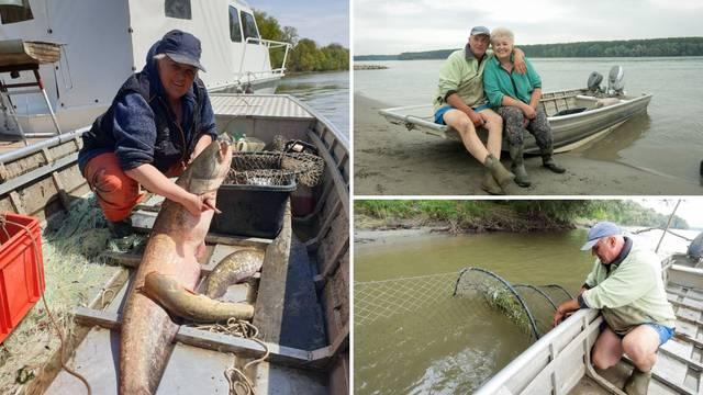 """Darko i Sanja su ribolovci iz Vukovara:  """"Lovimo ribe, volimo se, živimo i radimo 38 godina"""""""