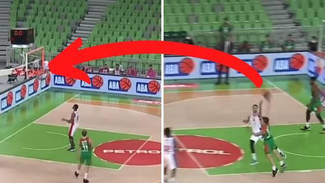 'Ovo je najbolji šut koji ćete vidjeti!' Igrač Cedevite pogodio nemoguće preko cijelog terena