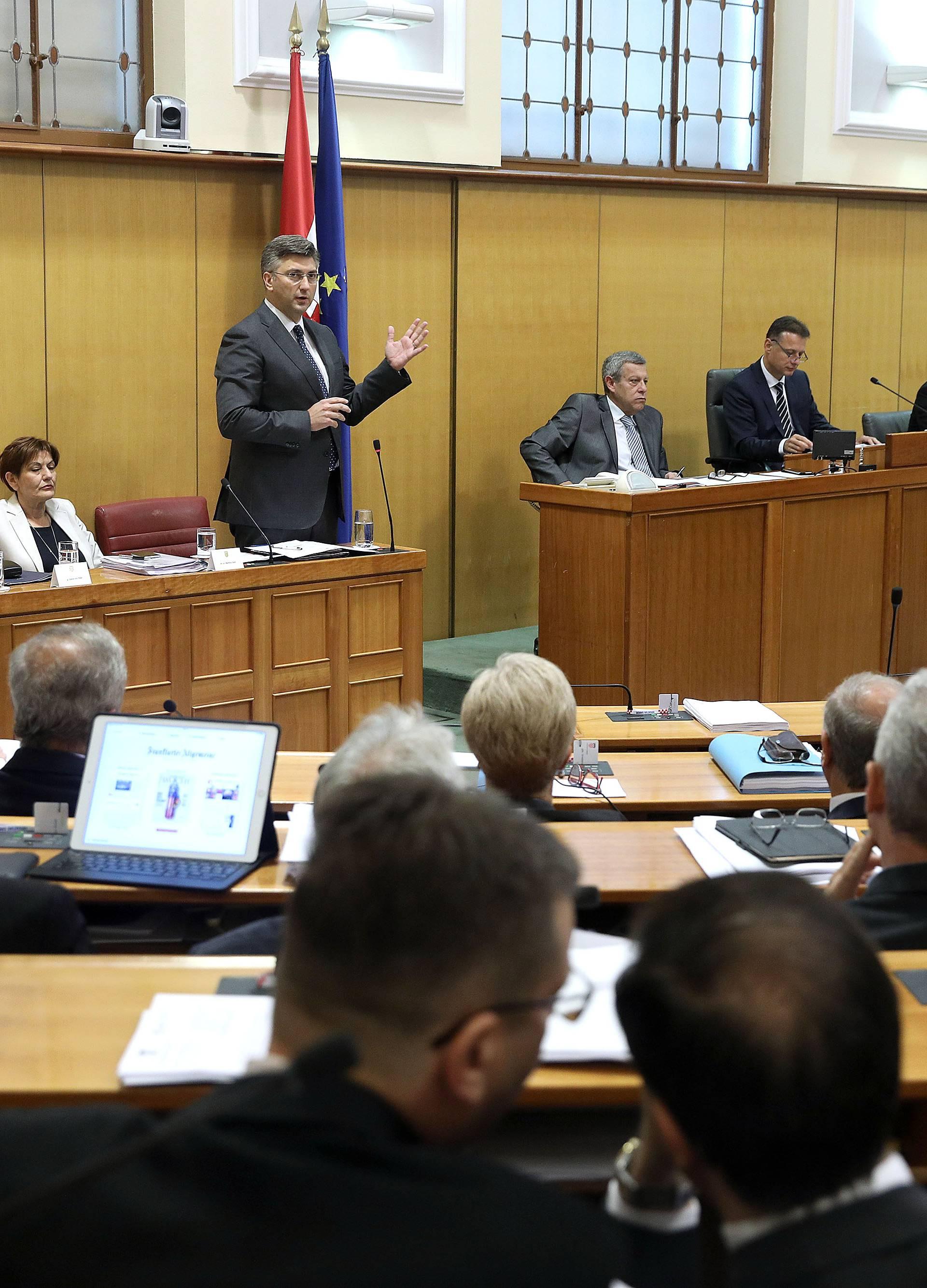 Zakon o koncesijama izglasali tankom većinom od 77 glasova