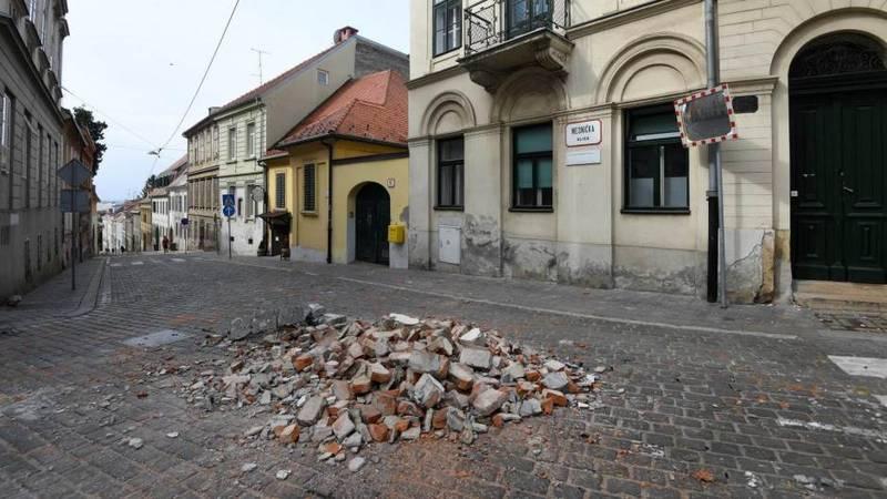 Urušilo se krovište u centru Zagreba, nitko nije ozlijeđen