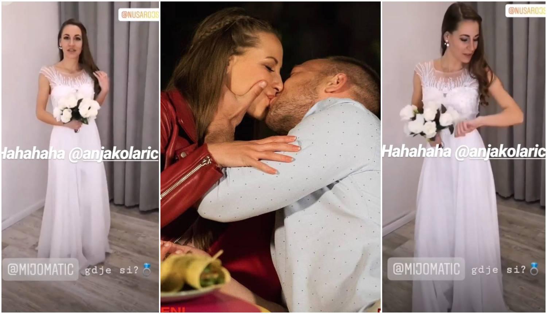 Nuša pozirala u vjenčanici pa upitala: Mijo Matić, gdje si ti?