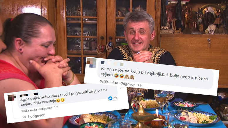 Gledatelji ljuti zbog komentara Agice: 'Uvijek ima prigovor, a onda na tanjuru ne ostavi ništa'