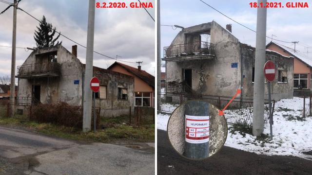 Kuća Žinićevog sina dobila sad crvenu naljepnicu, a ruševna je od rata. Tko će platiti rušenje?