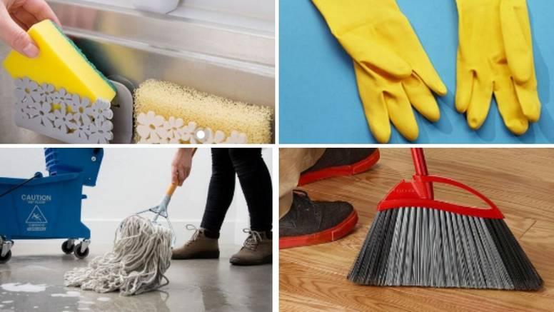 Alati za čišćenje: Evo koliko bi ih često trebali mijenjati i čistiti