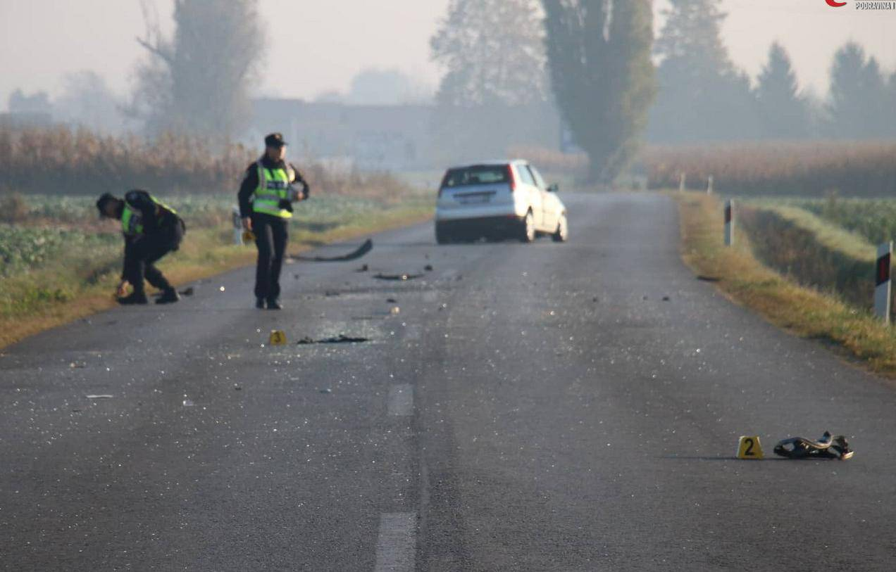 U sudaru auta i kamiona kod Koprivnice jedan ozlijeđen