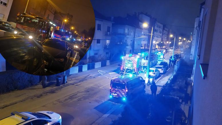 Požar u stanu kod Maksimira: 'Čula se jaka eksplozija, odmah sam istrčao van u panici'