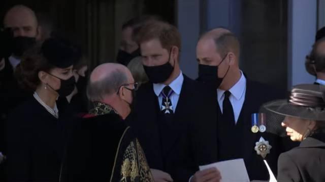 Braća se pomirila? Princ William i princ Harry razgovarali nakon dugo vremena poslije sprovoda