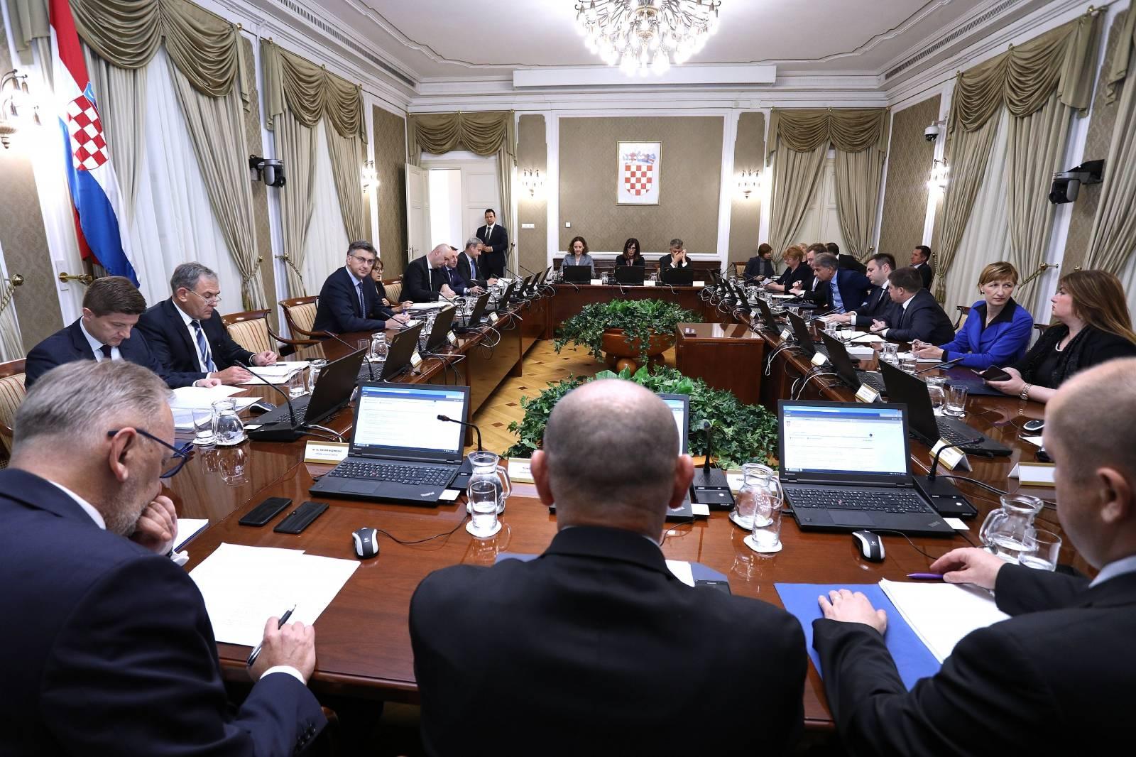 Zagreb: Rasprava Vlade na 157. sjednici o zemljišnim knjigama