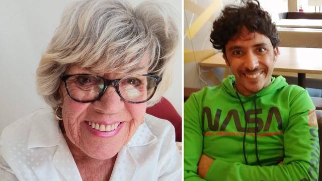 Baka Iris (81) očajna bez svoje ljubavi Mohameda (36): 'Ne daju mu vizu za Veliku Britaniju'