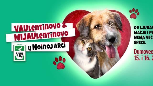 Vaulentinovo i Mijaulentinovo: Poklonite ljubav životinjama