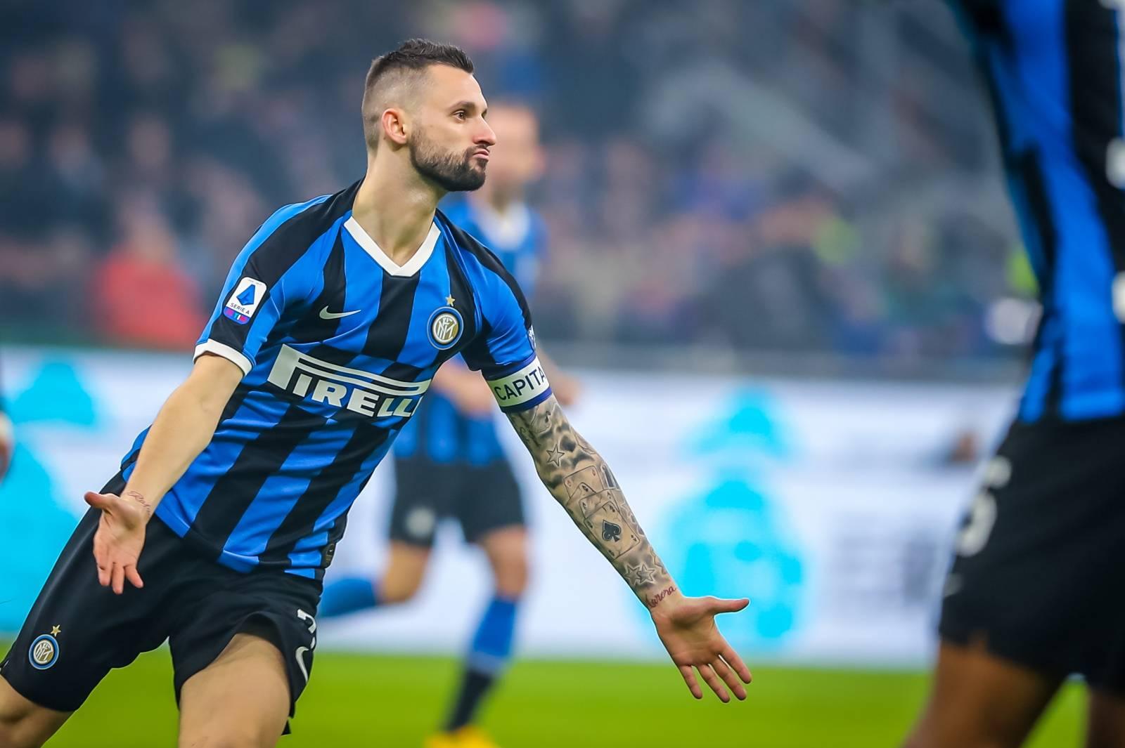 italian Serie A soccer match FC Internazionale Italian soccer Serie A season 2019/20