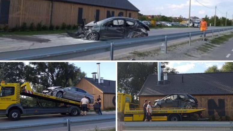 Sedmero ozlijeđeno u sudaru četiri automobila kraj Osijeka