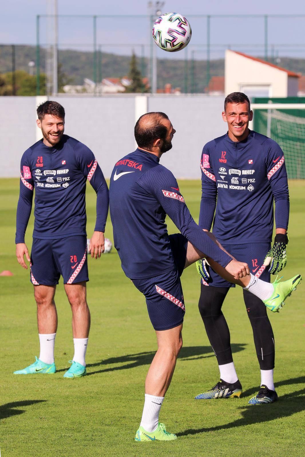 Hrvatski reprezentativci odradili još jedan trening u Rovinju