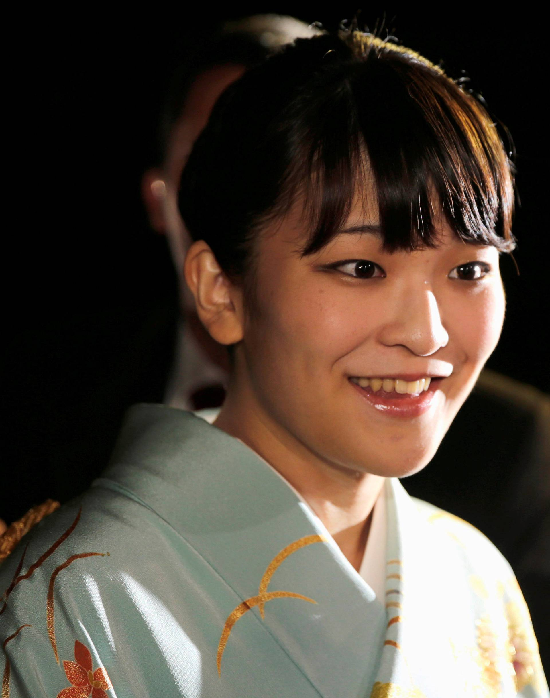 FILE PHOTO - Japan's Princess Mako arrives before a meeting with Paraguay's President Horacio Cartes at the presidential residence in Asuncion