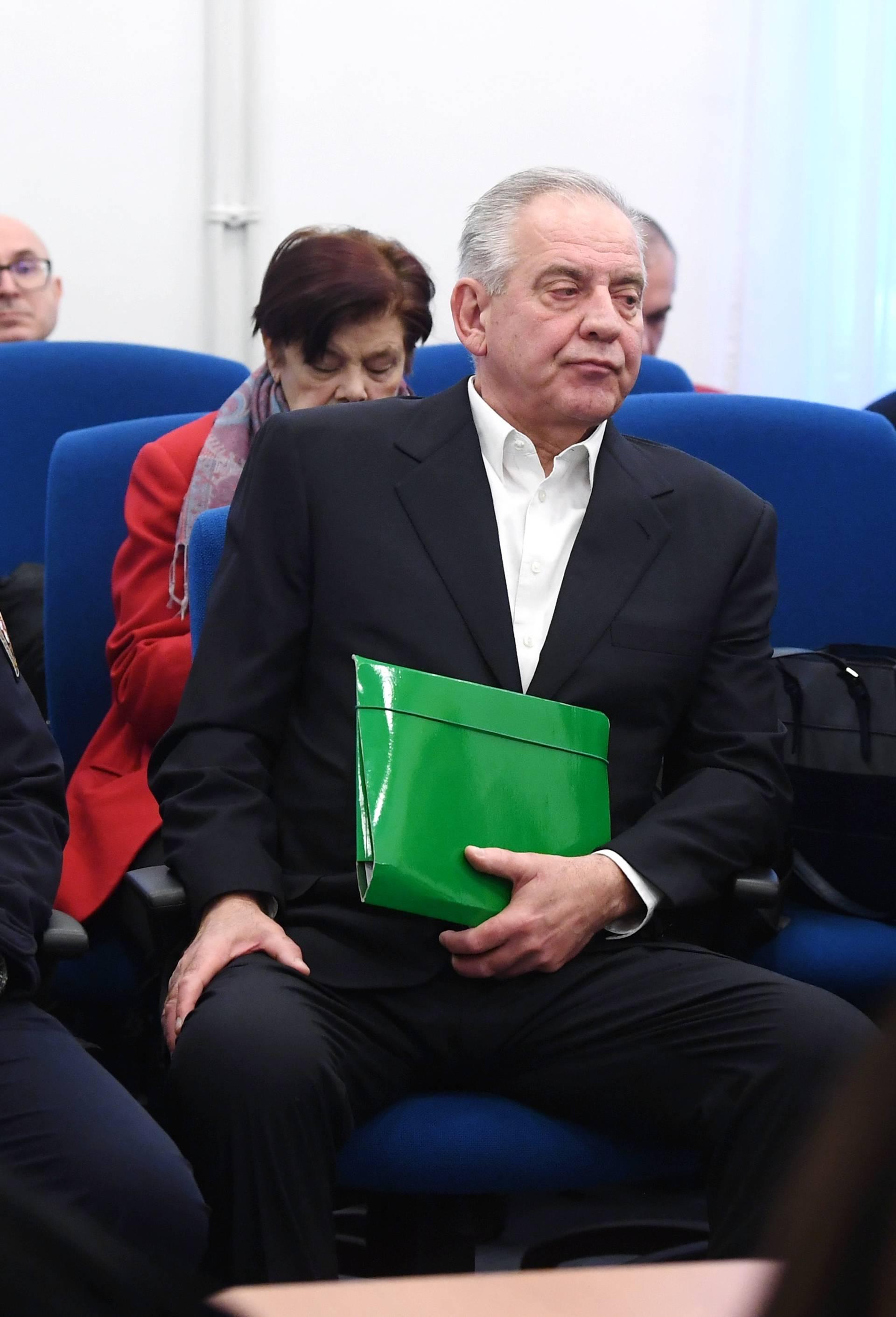 Zagreb: Ivo Sanader iznio obranu na slučaju u aferi Fimi media