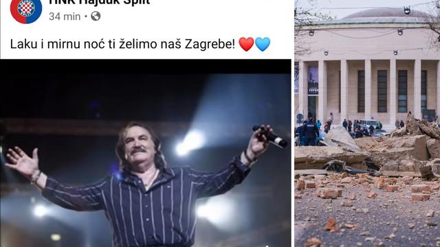 Hajduk raznježio Hrvatsku: Zagrebe, laka ti i mirna noć!