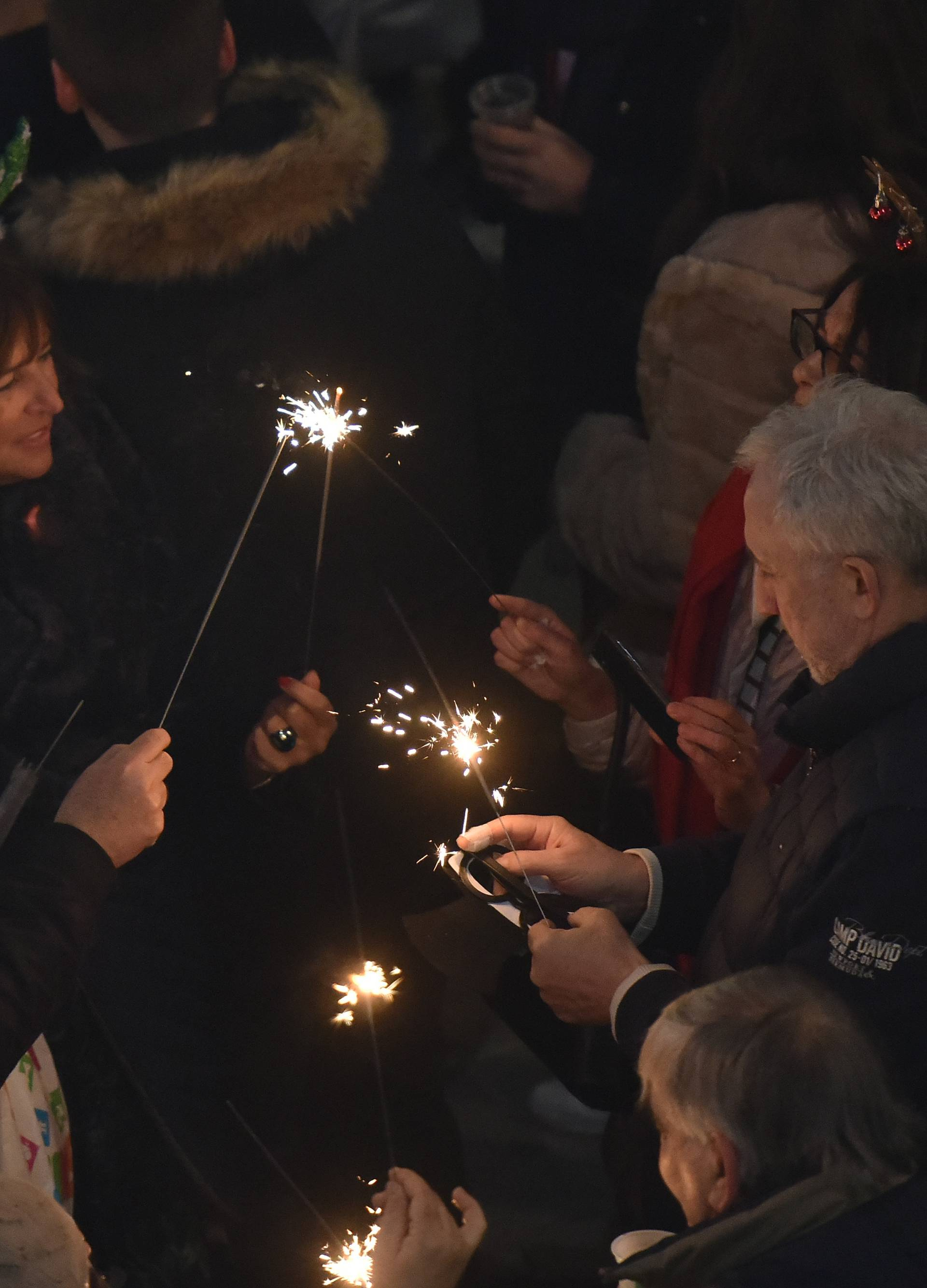 Proslava Nove godine u Istri protekla je mirno i sigurno...
