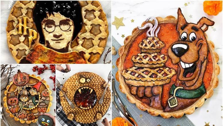 Njezine maštovite pite su čista umjetnost, mnogi bi ih radije uokvirili i izložili nego pojeli