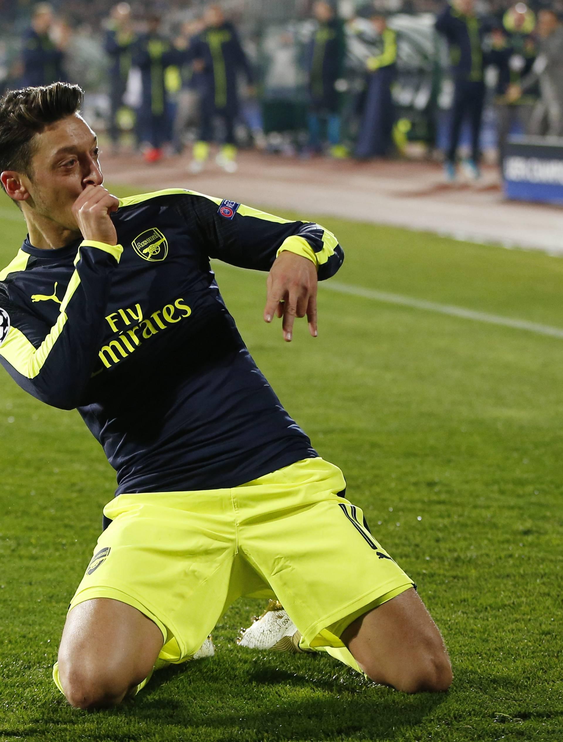 PFC Ludogorets Razgrad v Arsenal - UEFA Champions League Group Stage - Group A