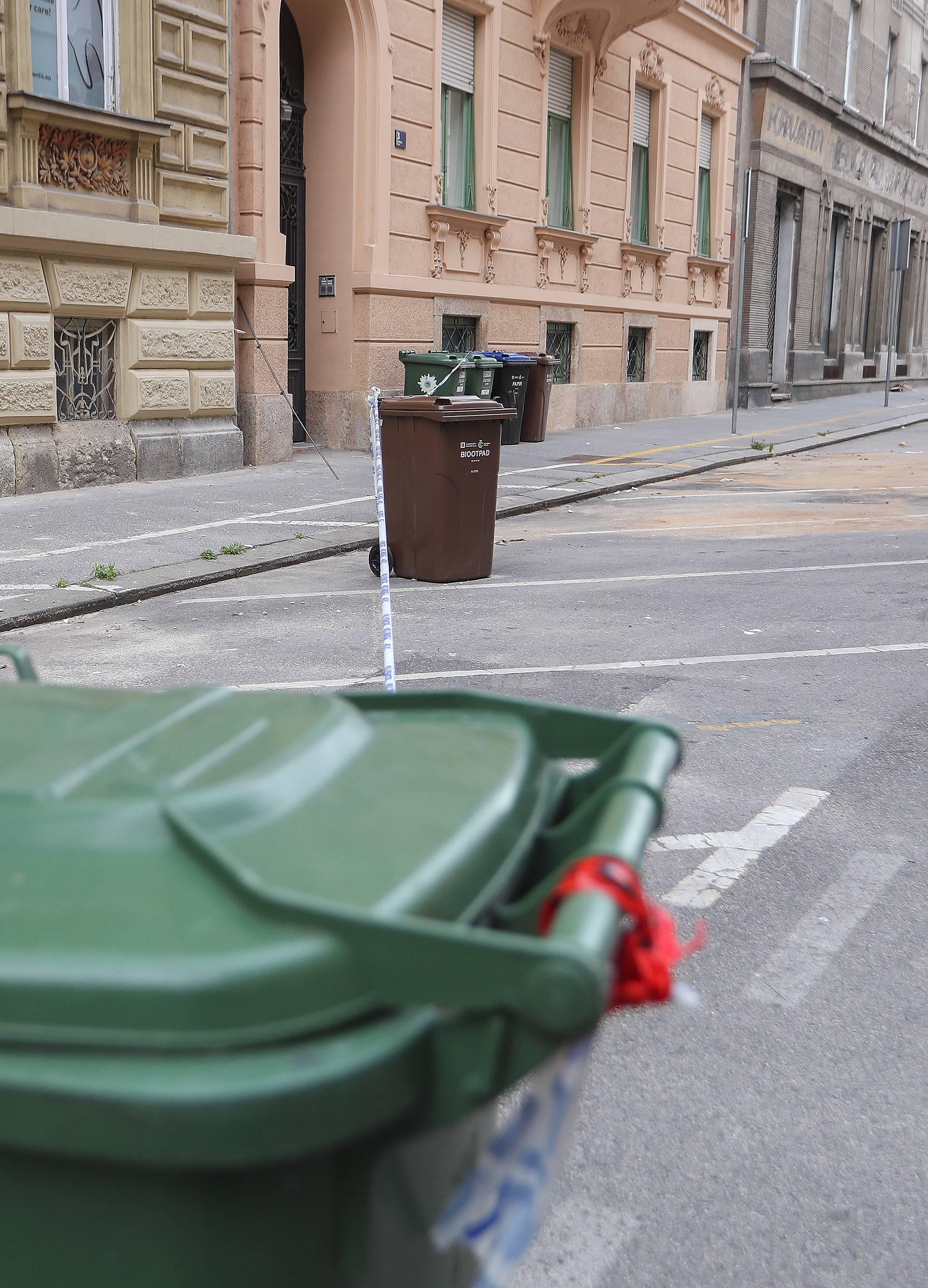 Zagreb: Prazna parkirališta u centru grada
