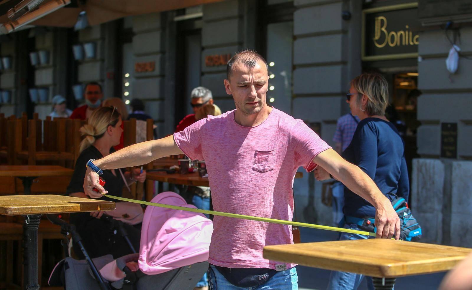 Zagreb: Ugostitelji pripremaju kafiće i terese za ponovno otvaranje