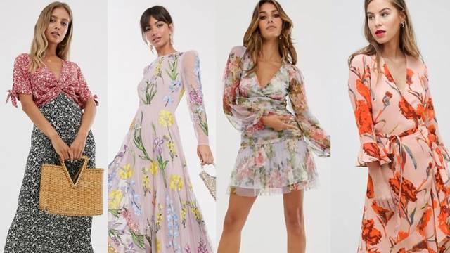 Pravi proljetni motiv: Predivne cvjetne haljine uz razne tenisice