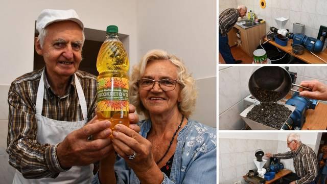 Baka i djed iz Požege u maloj sobici rade suncokretovo ulje: 'Od nas kupuju i saloni ljepote'