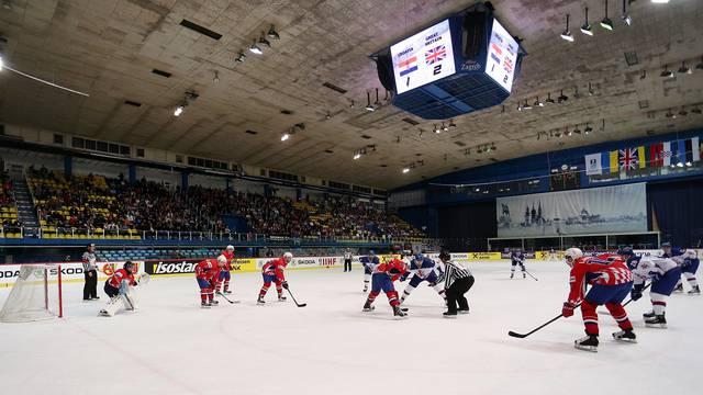 Hrvatski hokejaši izgubili od Velike Britanije na startu SP-a