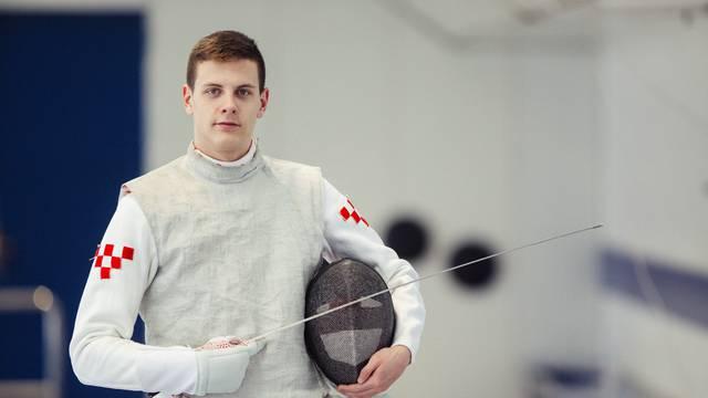 Svjetski juniorski prvak u macevanju - Petar Files iz Hrvatske