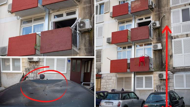 Detalji drame u Dubrovniku: U stanu eksplodirao plin, skočio kroz prozor i pao na krov auta
