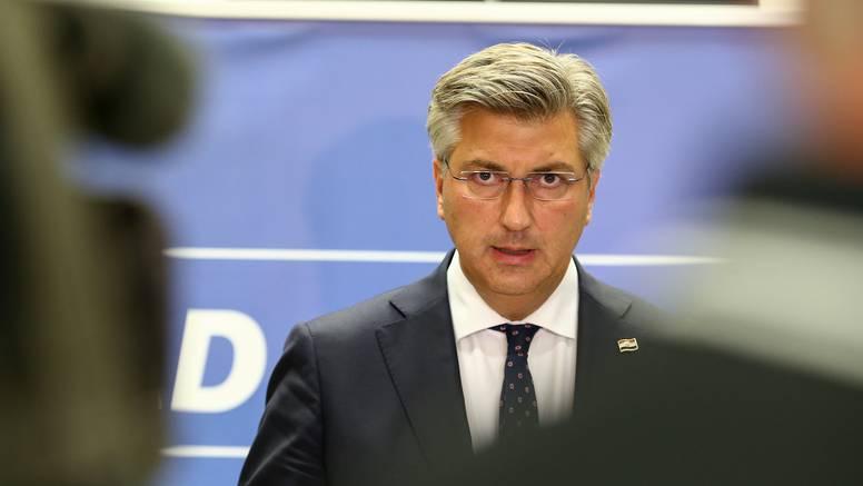 Plenković: 'Nema isprike ni ostavke, nema prijevremenih izbora zbog Fimi Medije!'