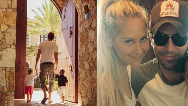 Enrique opet skrivao trudnoću Kournikove: Stiže treća beba