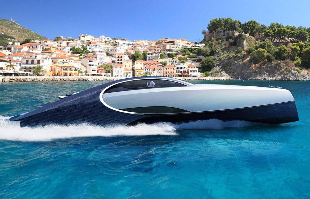 San snova svakog milijunaša: Bugattijeva jahta ima i kamin