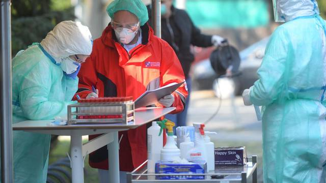 "Nastavni zavod za javno zdravstvo ""dr. Andija Štampar"" uveo ""drive in"" dijagnostiku koronavirusa"